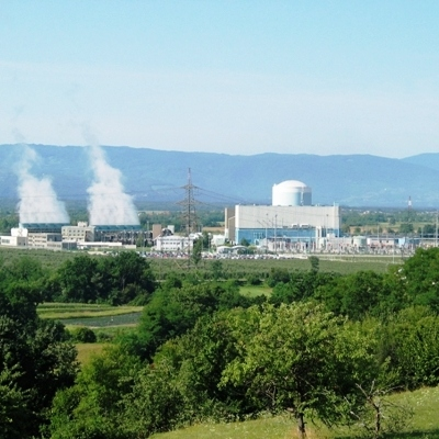 Gigawatts from the nuclear core at the Krško NPP