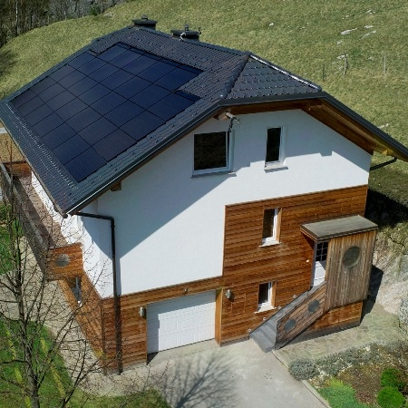 Using Micro-scale PV and Heat Pumps for Energy Self-sufficiency
