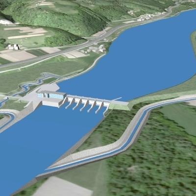 Z zamaknitvijo gradnje HE Mokrice povezana tudi problematika območne protipoplavne zaščite