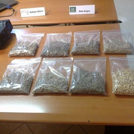 ZPS že petič preverjal kakovost peletov na slovenskem trgu