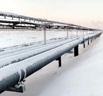 Rusija in Ukrajina sklenili nov petletni dogovor o dobavi plina
