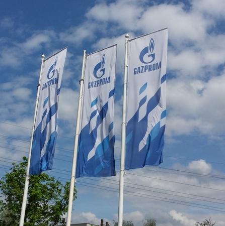 Dobiček Gazproma zaradi nižjih cen plina upadel za 45 %