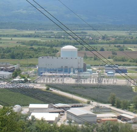Proizvodnja elektrike v NEK maja 7 % nad načrti