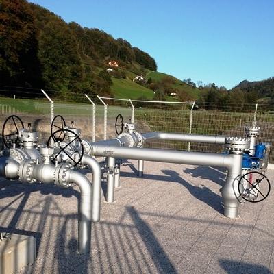 Znaten upad prenosa plina v smeri Slovenija-Hrvaška