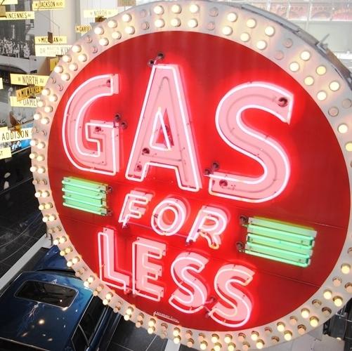 Cene bencina in dizla precej navzdol