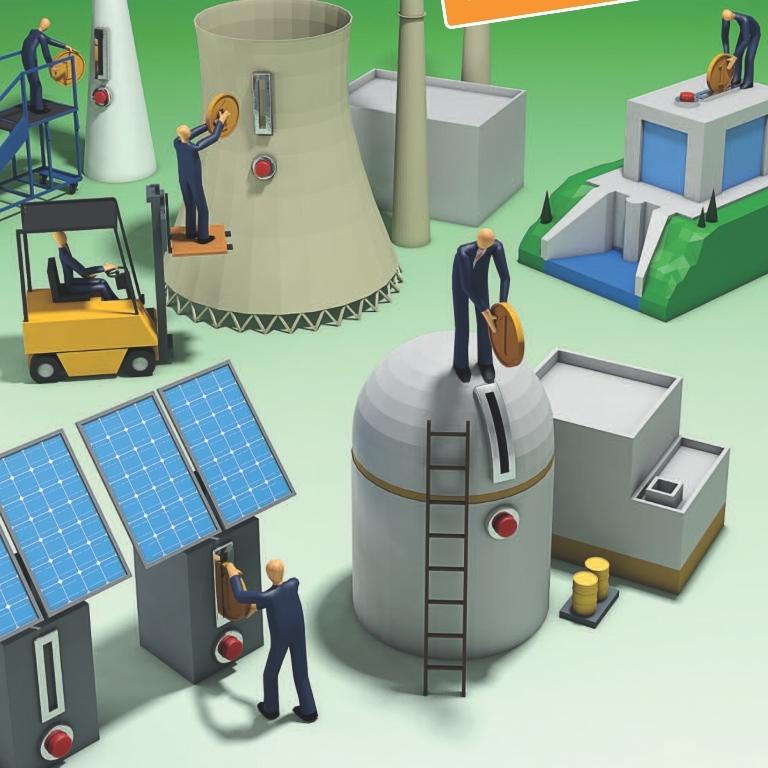 Kakšna naj bo energetska krajina v prihodnosti? Presodite sami.