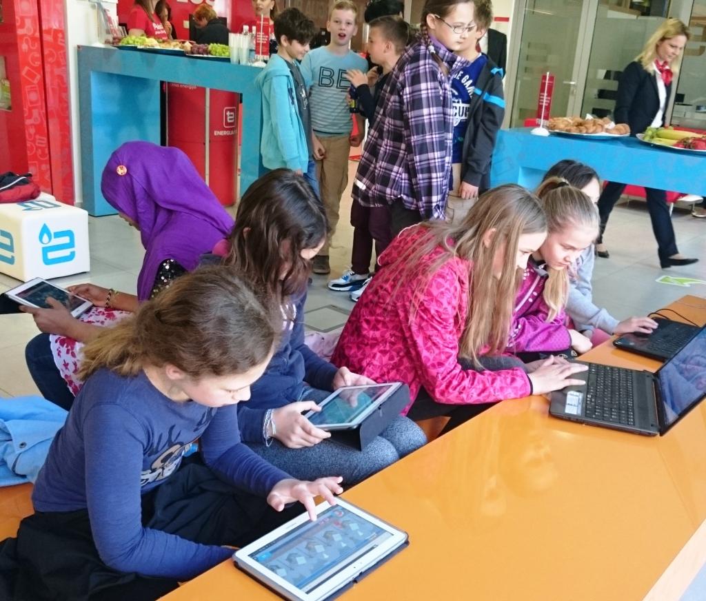 MODRI OTROCI: Ob Dnevu Zemlje nova eko-energetska igrica za otroke