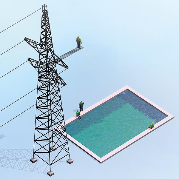Montel Weekly: Povpraševanje po elektriki v Evropi do konca leta 3–5 % pod običajnim