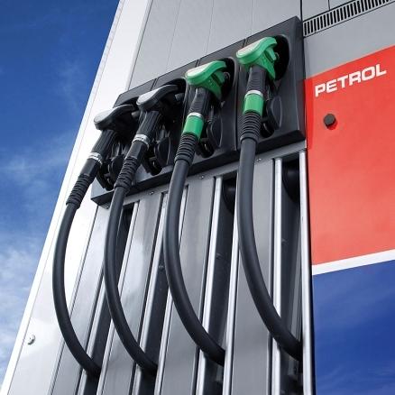Rast cen bencina in dizla