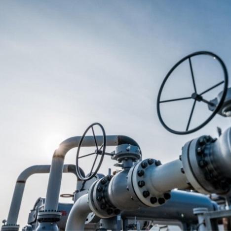 Plinovodi lani do sosednjih prenosnih sistemov prenesli 71 % manj plina