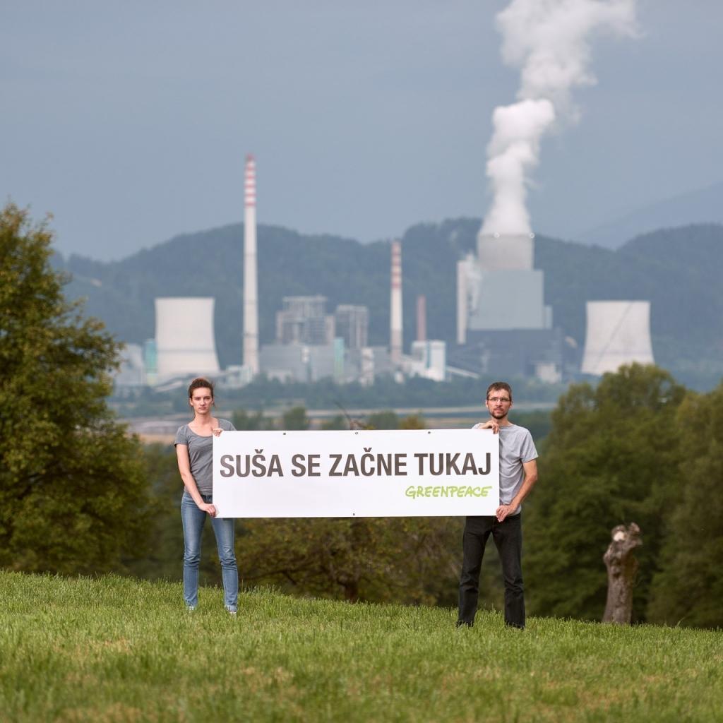 Greenpeace vladi: V predlog EKS vključite pravočasno opuščanje premoga