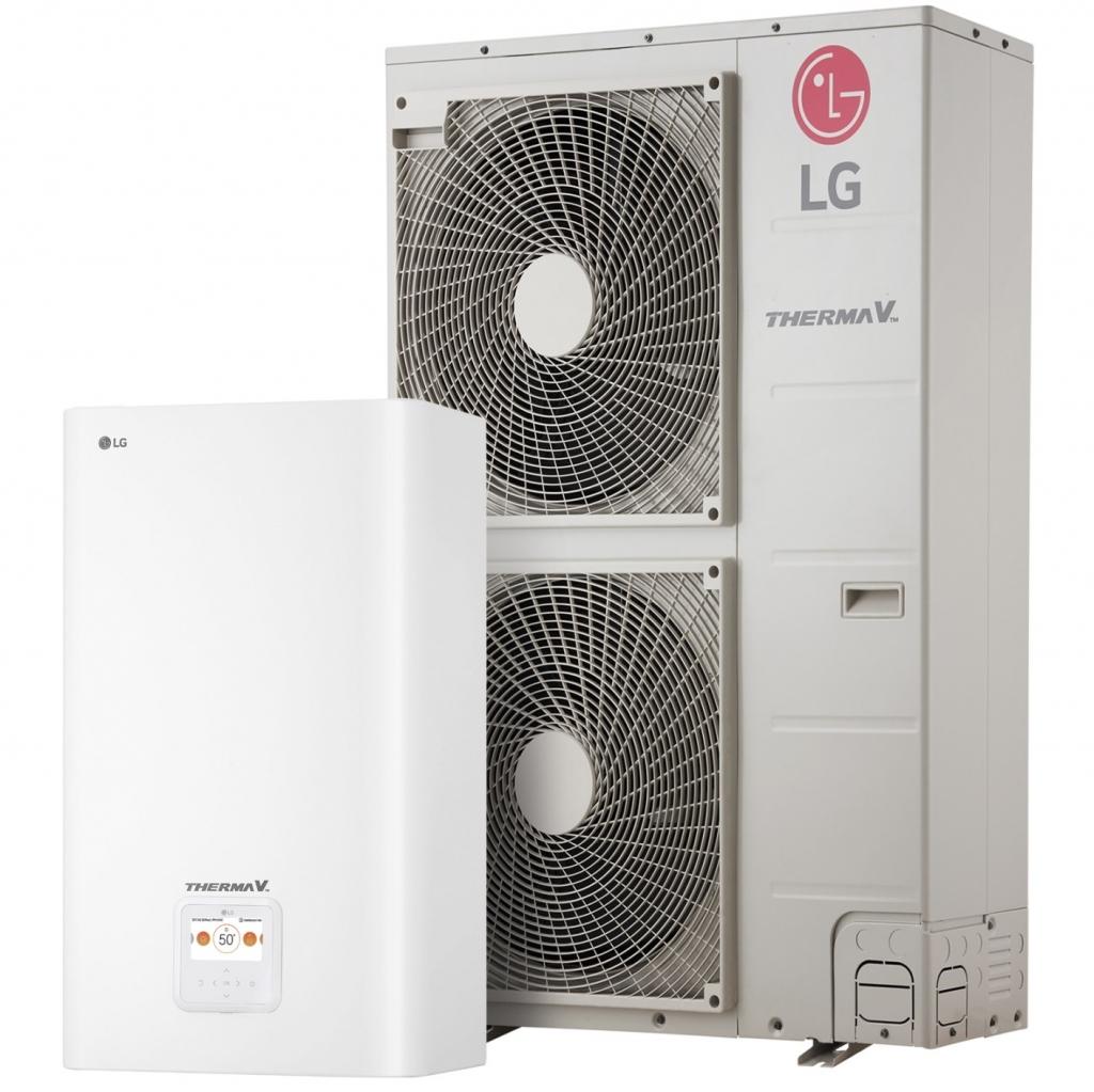 LG predstavil izboljšano toplotno črpalko