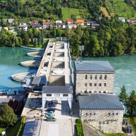 Koliko električne energije so v prvem polletju proizvedle slovenske reke?