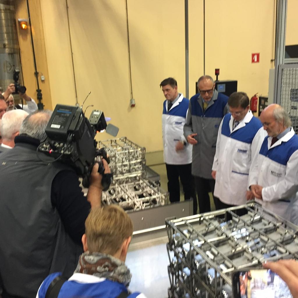 Hidria z novo linijo v Kopru v najvišji razred proizvajalcev ključnih delov volanskih sistemov