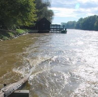 Infrastrukturnemu ministrstvu pošiljali razglednice reke Mure