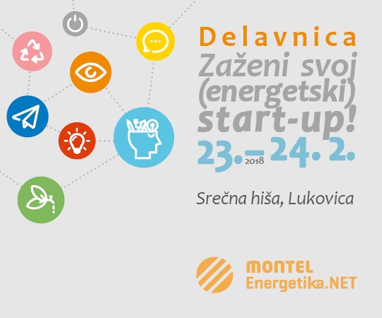 The First Energy Start-up Workshop in Slovenia: From an (Energy) Idea to a Successful Company!