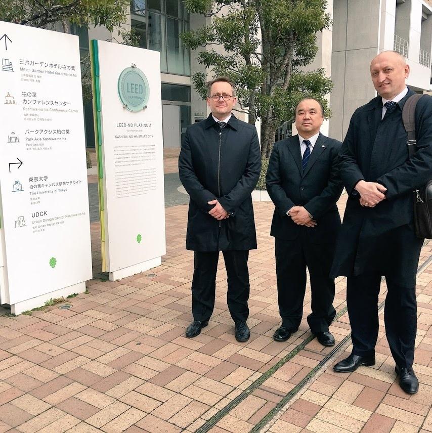Nadzorni odbor slovensko-japonskega projekta NEDO zadovoljen