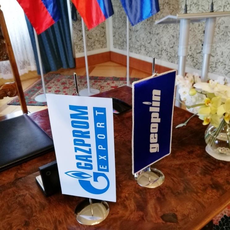 Geoplin in Gazprom Export podpisala novo petletno pogodbo 2018-2022