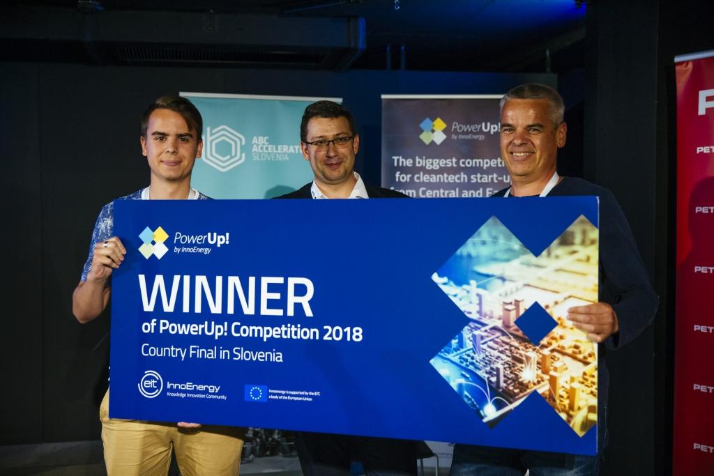 PowerUp! 2018: Najboljša slovenska rešitev na področju čistih tehnologij je nov urbani vir vode myWater