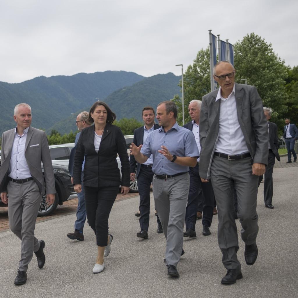 Hidria v Tolminu odprla novo proizvodno linijo za izdelavo sistema Optymus PSG