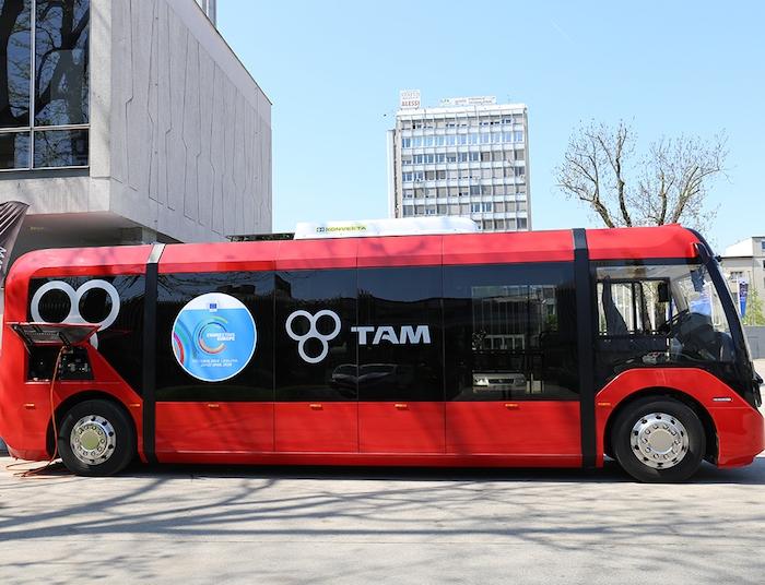TAM-Europe bo v Sankt Peterburgu testiral nov model električnega avtobusa