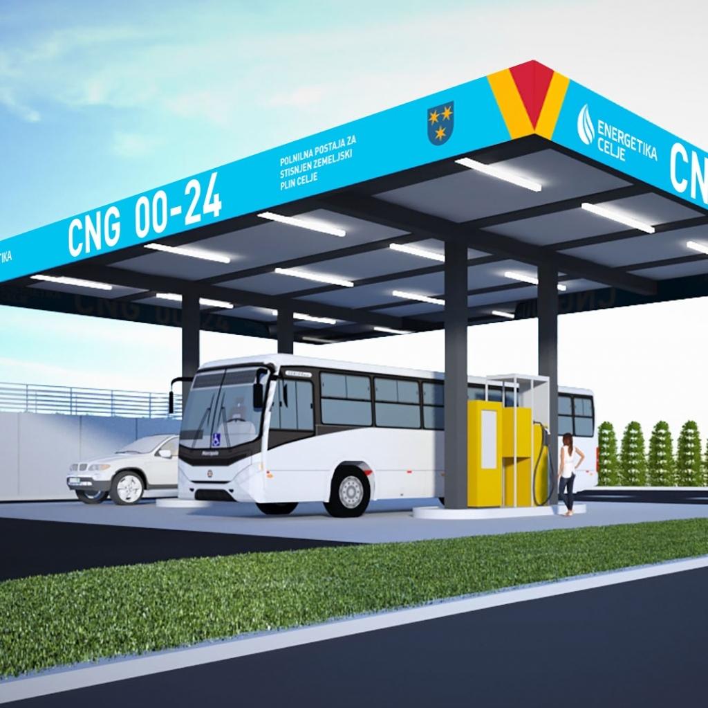 Zemeljski plin za pogon vozil bo do konca leta 2025 oproščen trošarine