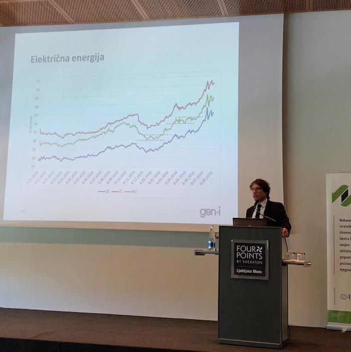Paravan: Trenutno smo še vedno v trendu rasti cen energentov in elektrike