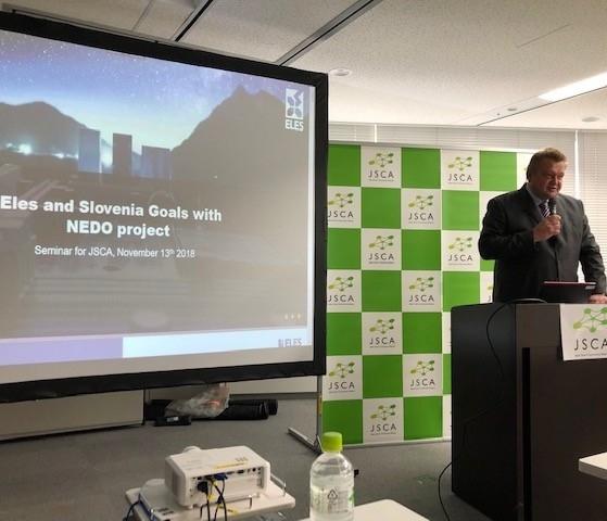 ELES: Velik interes japonskih gospodarstvenikov za skupne pilotne projekte