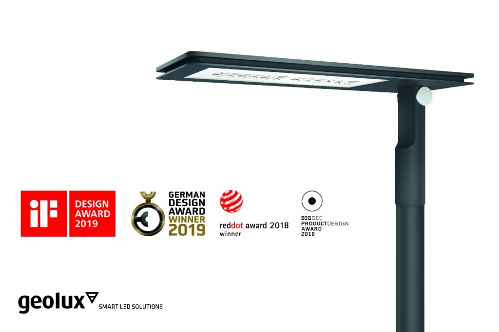 Slovenskemu uličnemu svetilu GeoLux Plain še ena nagrada