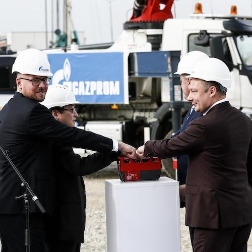 Gazprom Installs Gas Turbine Equipment at Serbian Pančevo Plant