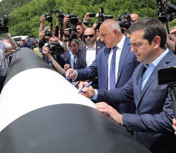 Over 70km of Line Pipes Delivered for Greece-Bulgaria Gas Link