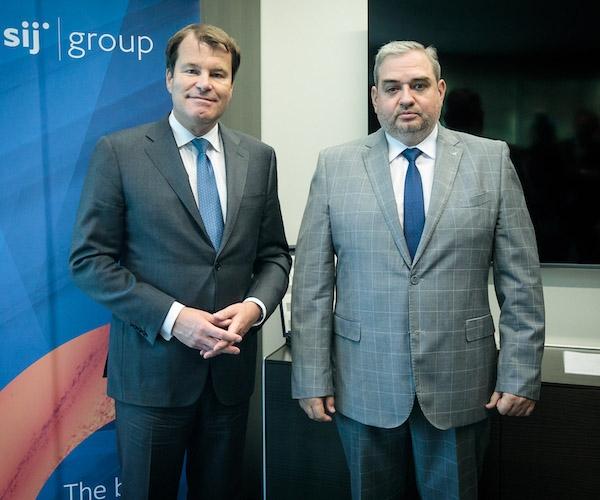 EBRD s Skupino SIJ o možnosti nadaljnjih privatizacijskih aktivnosti