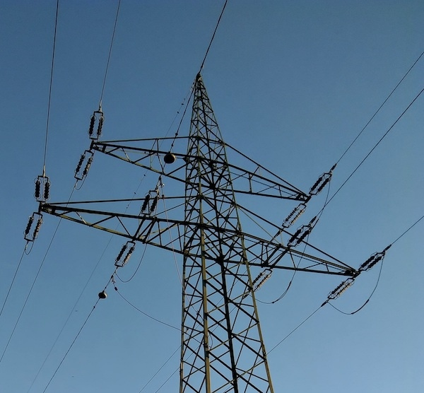 First Pillar of Bulgarian 400 kV Maritsa Iztok-Burgas Power Line Erected