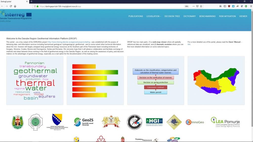 Projekt 'Danube Region Leading Geothermal Energy' (DARLINGe) se zaključuje!