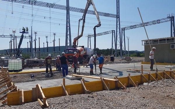 ELES izvaja obsežno rekonstrukcijo RTP Divača