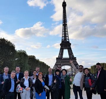 Domači gospodarstveniki so se seznanili s francoskimi praksami prehoda na zeleno gospodarstvo