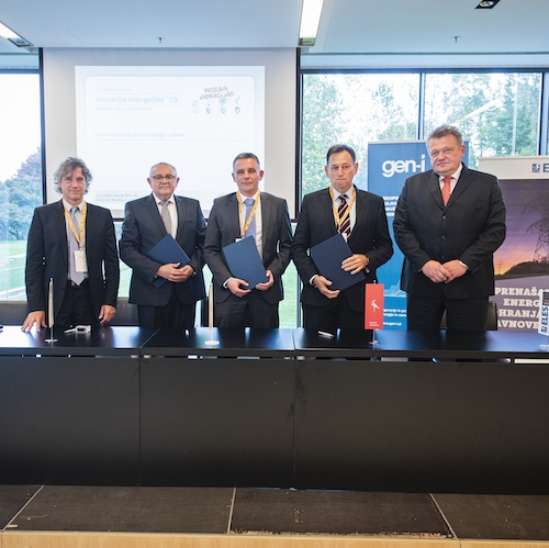 Družbama ELES in GEN-I so se pri pospeševanju zelene preobrazbe pridružile tri elektrodistribucije