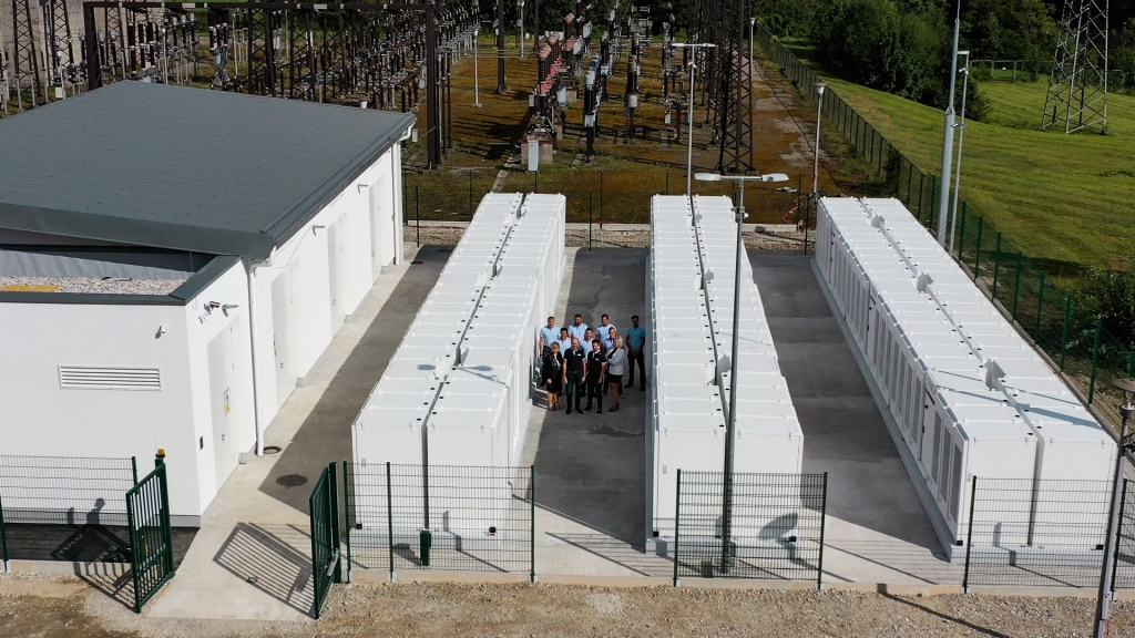 Slovenia's NGEN Launches Region's Largest Battery Storage System