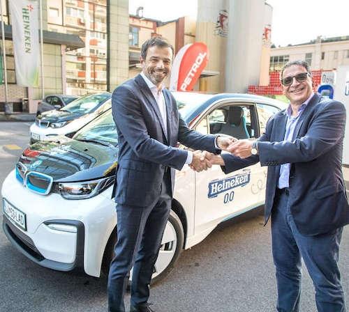 Pivovarna Laško Union v partnerstvu s Petrolom stopa na pot e-mobilnosti