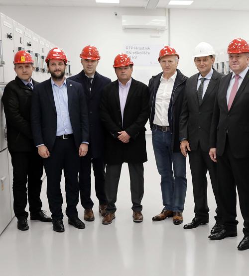 Elektro Ljubljana prenovil razdelilno transformatorsko postajo Hrastnik