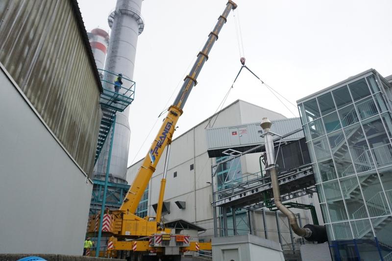 V TEB dobili dizel električni agregat za temni zagon sedmega plinskega bloka