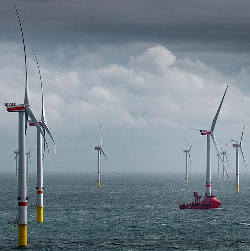 Lanska rekordna rast novih vetrnih zmogljivosti na morju »ni dovolj« za doseganje podnebnih ciljev EU