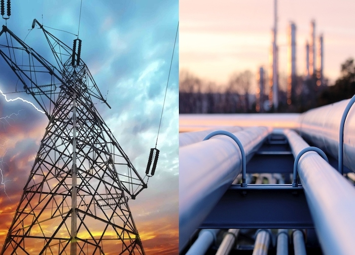 V prvem četrtletju letos padec cen zemeljskega plina in elektrike