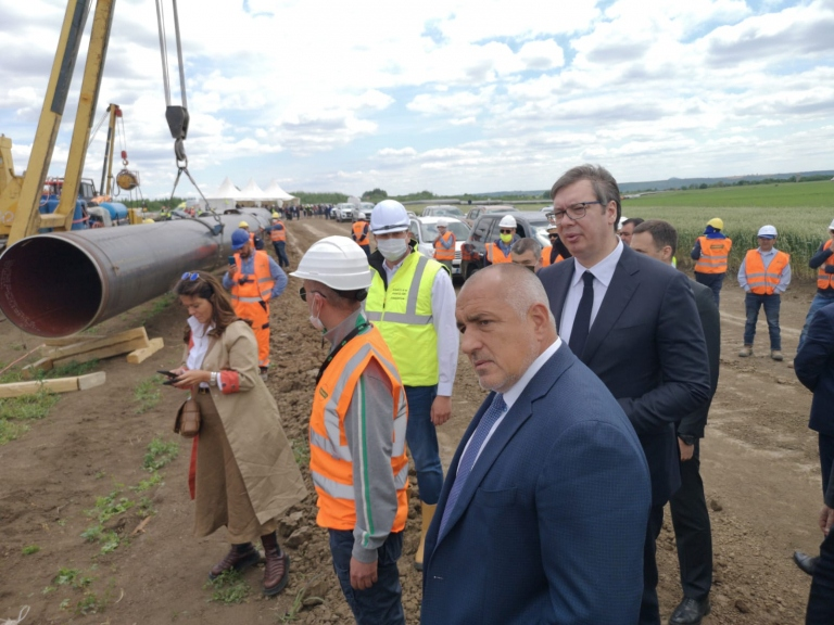 Works on Bulgarian Balkan Stream Gas Pipeline Proceeding at Full Speed