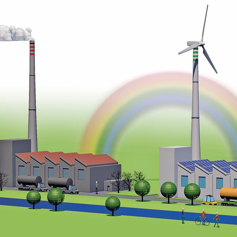 Brez TEŠ in JEK bo končna cena elektrike »neobvladljiva«; parazitsko delovanje OVE elektrarn