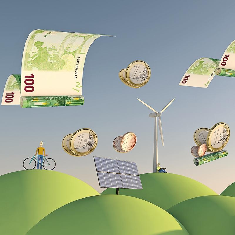 Zelene obveznice vse bolj vroče, po nacionalnem načrtu za okrevanje zelenim projektom 705 milijonov evrov