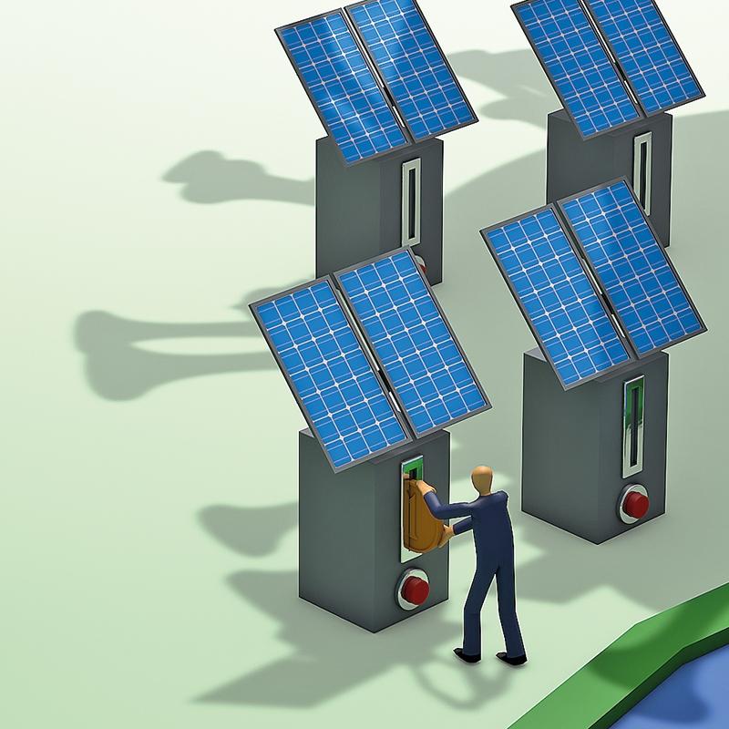 Polnjenje električnih avtomobilov kot spodbuda za obnovljive vire v podjetju
