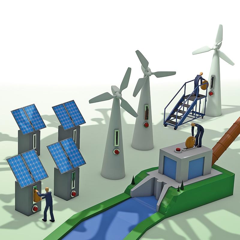 Izplačane podpore za OVE lani zrasle za 1,4 %; velik padec izplačil za SPTE na fosilna goriva
