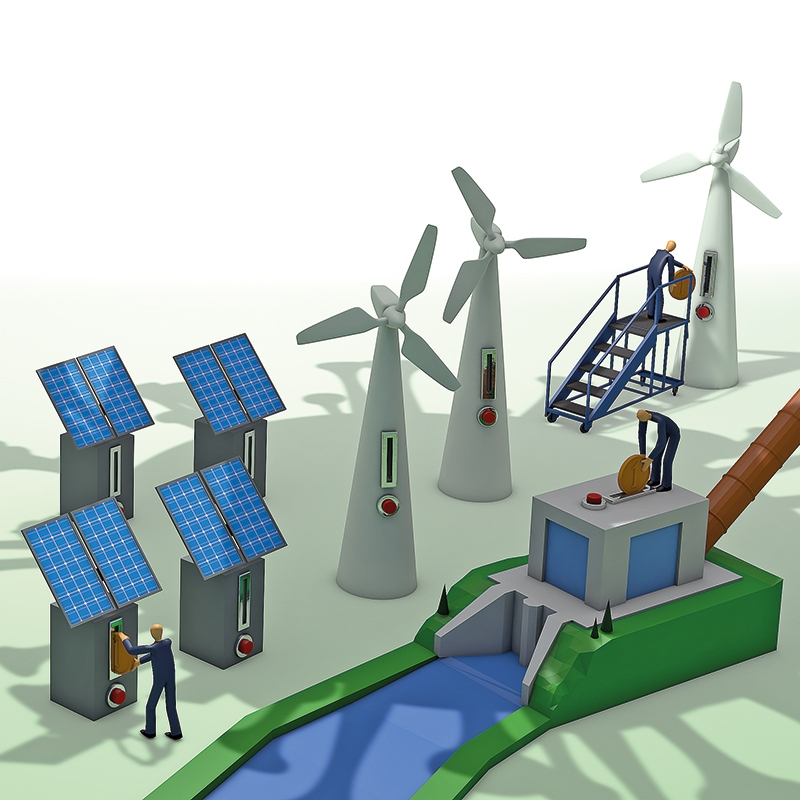 Vlada olajšuje gradnjo vetrnih in sončnih elektrarn na vodovarstvenih območjih