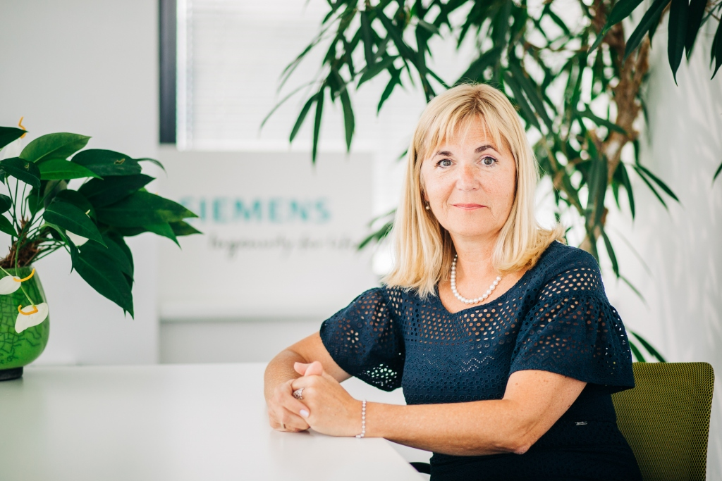 Medeja Lončar, Siemens: Prihodnost zahteva jasen fokus